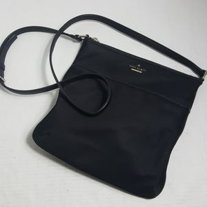 Kate Spade nylon crossbody bag black